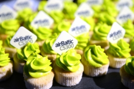 (2016-12-01) Bombardier release-party ved Airbaltic i Riga