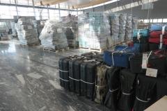 Test af bagageanlæg