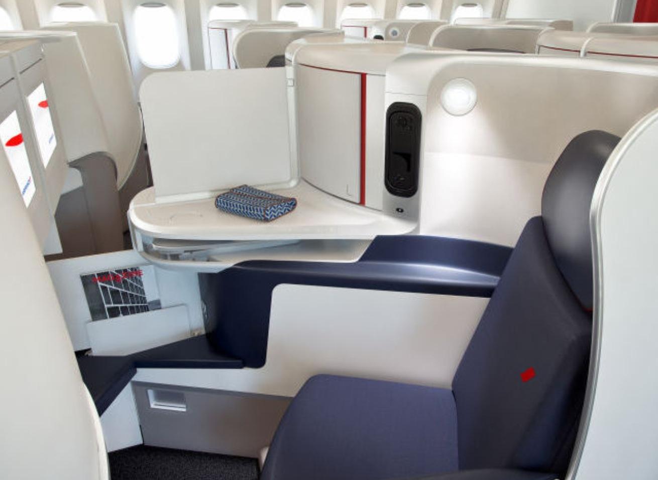 Air France har de sidste to år installeret nye kabiner i sine Boeing 777-fly.