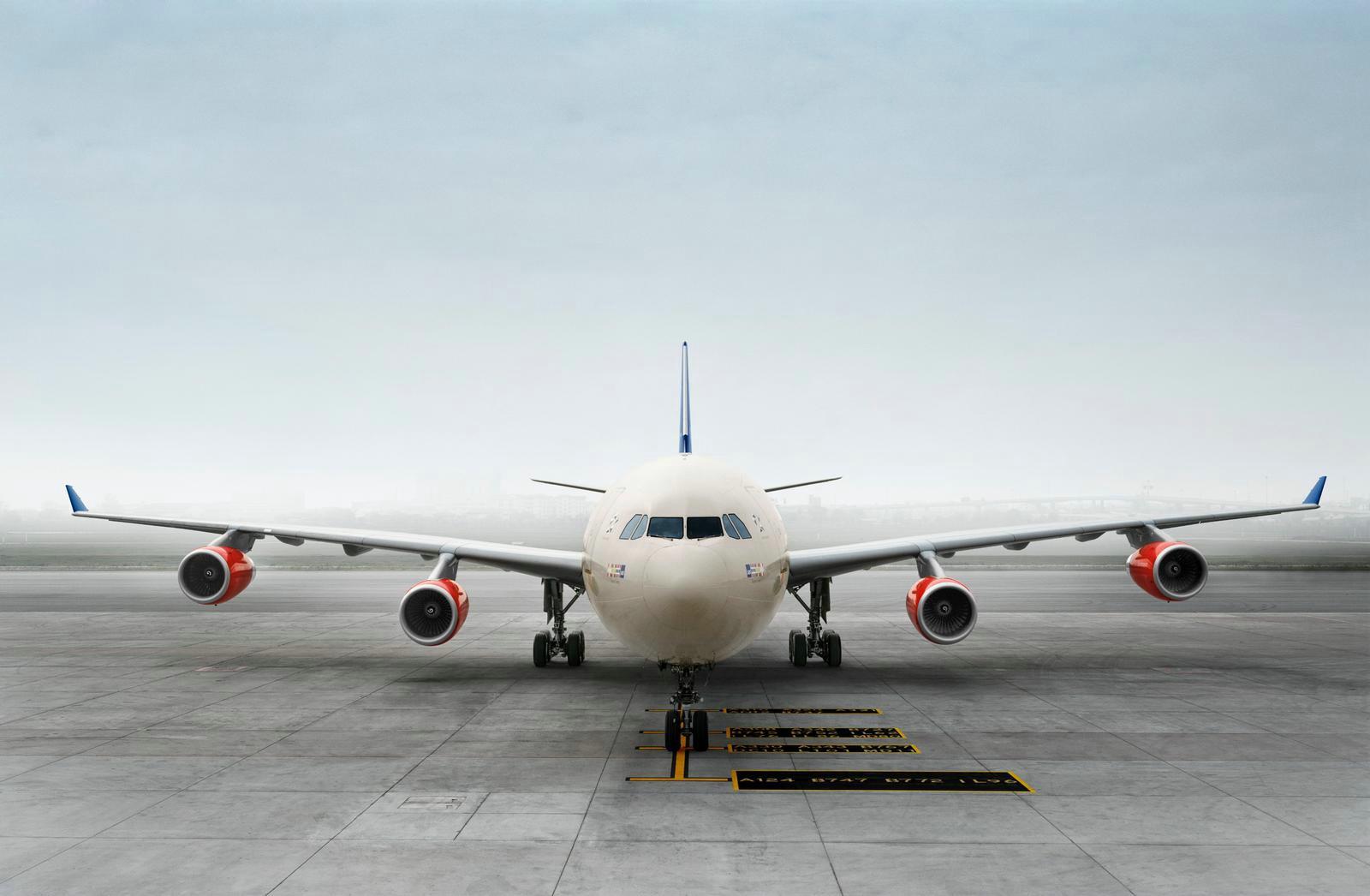SAS Airbus A340-300 i Stockholm-Arlanda. (Foto: SAS)