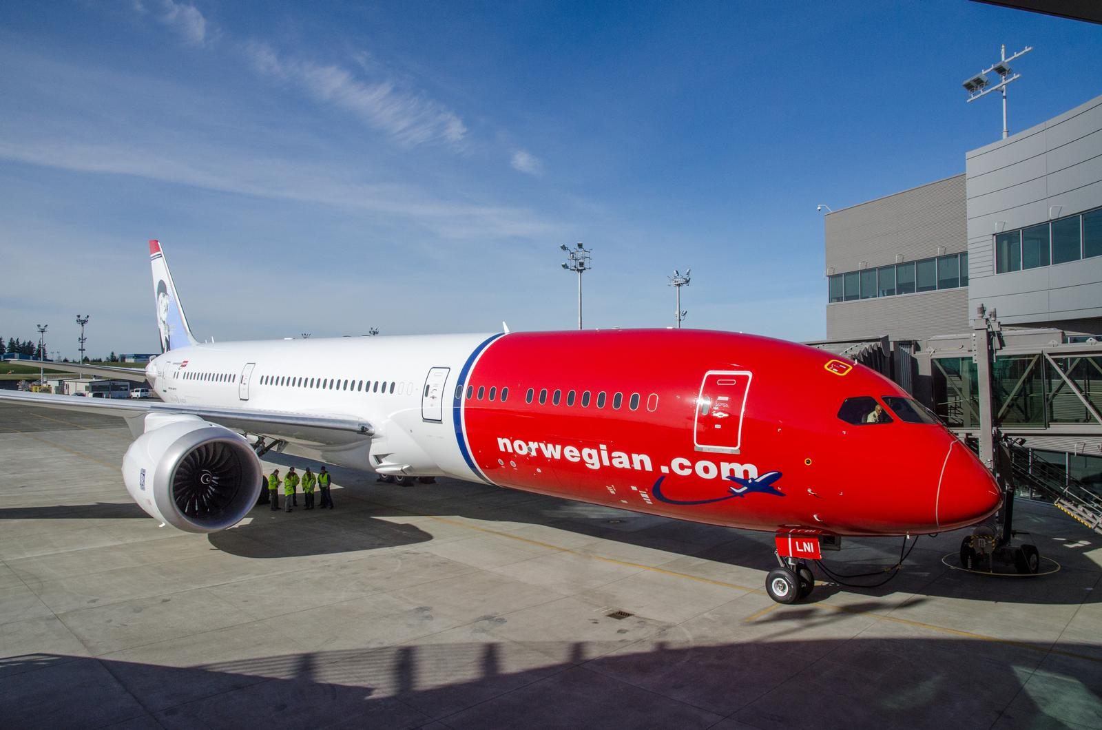 Norwegians Boeing 787-9 Dreamliner forud for levering i Seattle. (Foto: Morten Lund Tiirikainen)