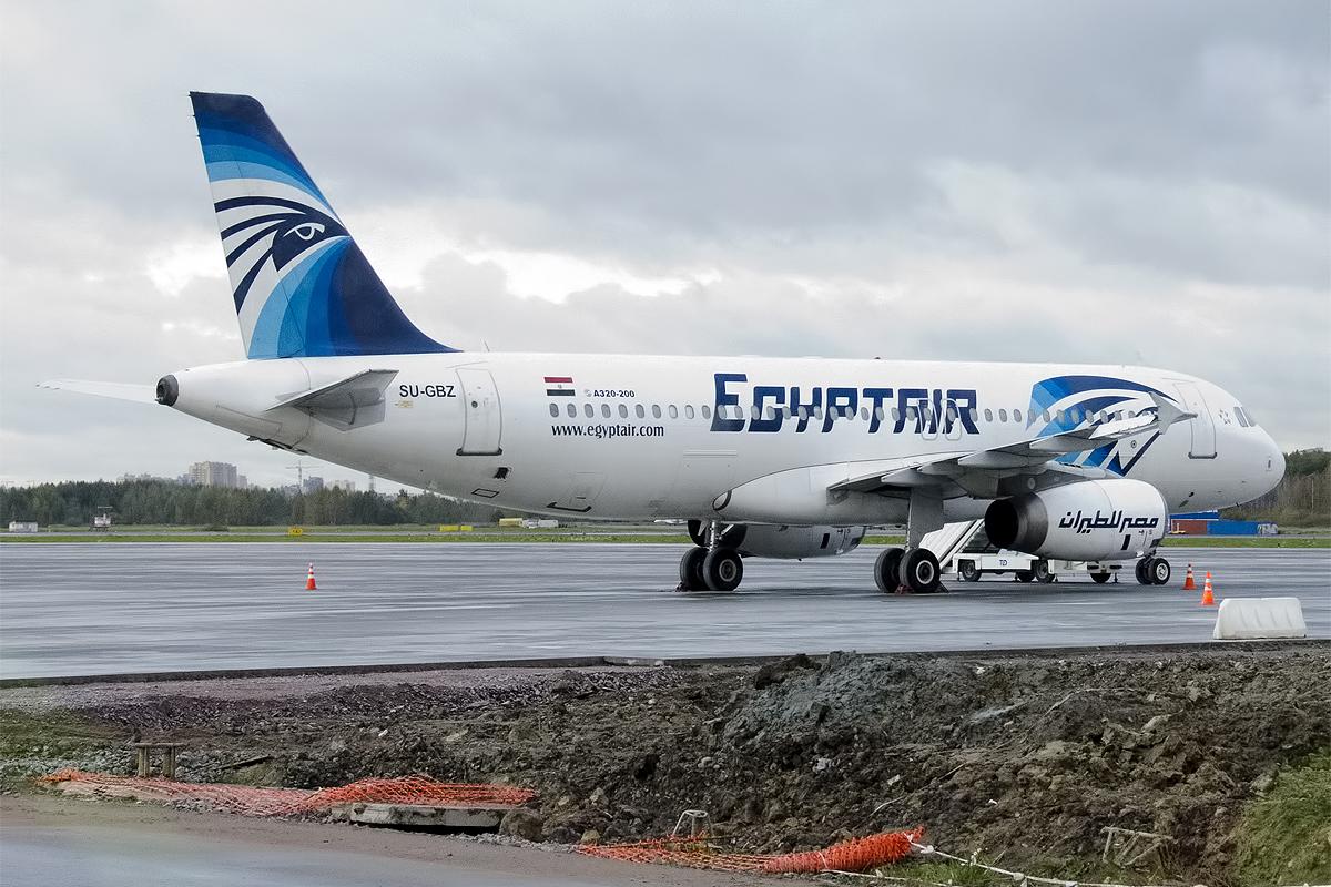 Airbus A320-200 fra Egyptair.