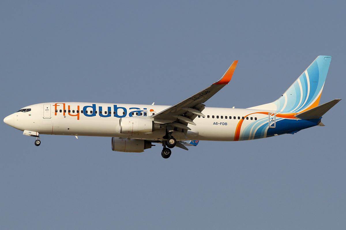 Boeing 737-800 fra Flydubai.