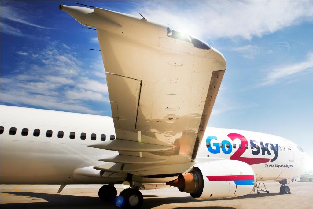 Boeing 737-400 fra Go2Sky.