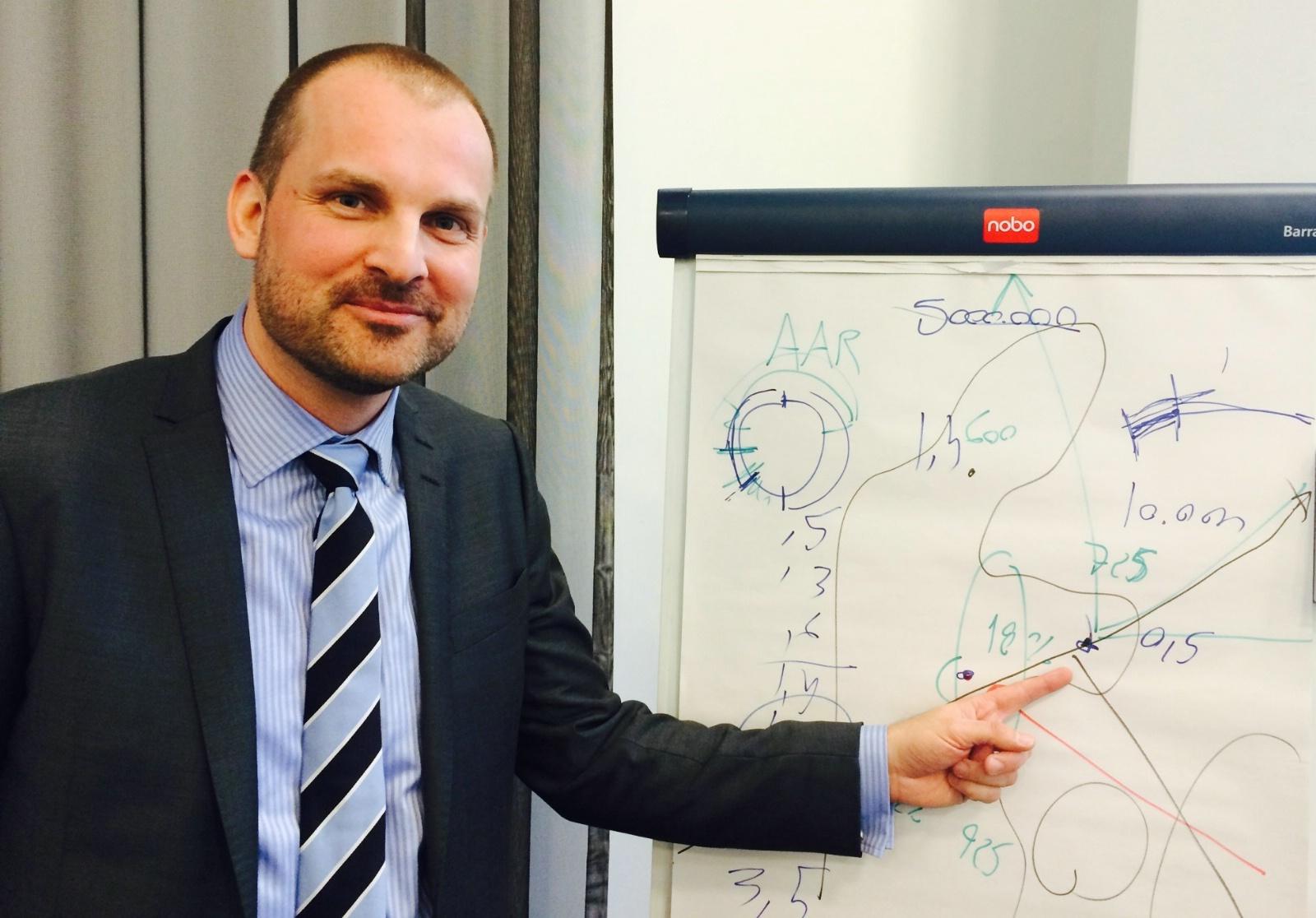 Administrerende direktør Peter Høgsberg fra Aarhus Lufthavn. (Foto: Ole Kirchert Christensen)