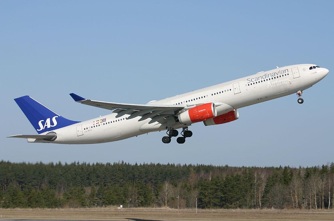 Airbus A330-300 fra SAS.
