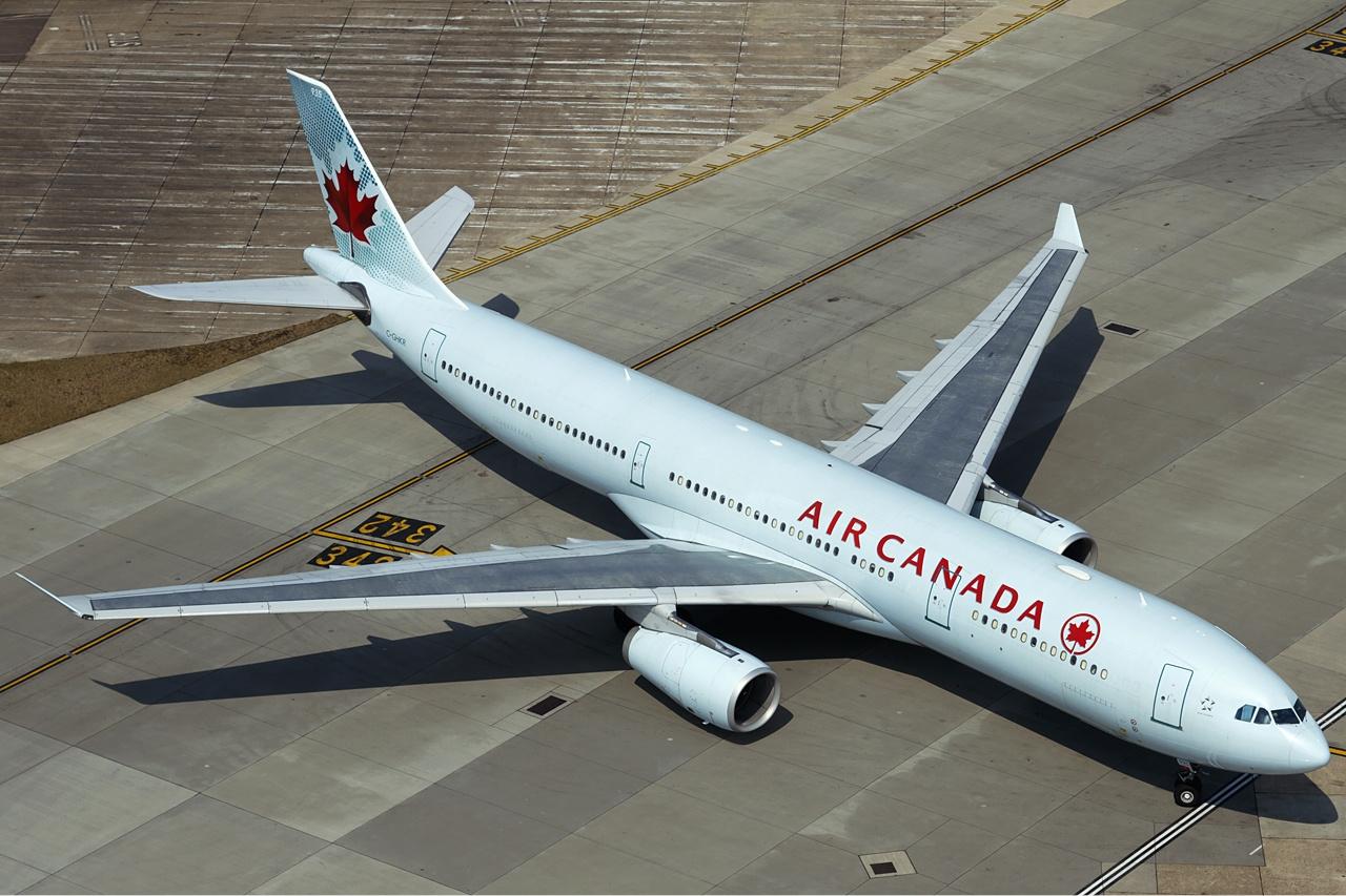 Airbus A330-300 fra Air Canada.