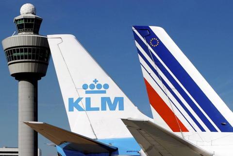Air France- KLM Group. Arkivfoto.
