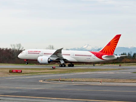 Boeing 787-8 Dreamliner fra Air India.