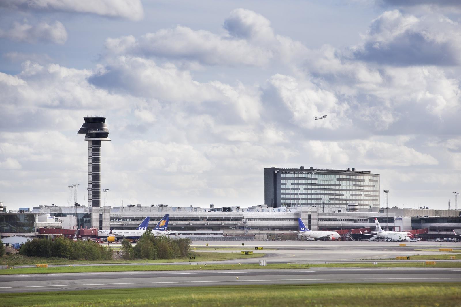Stockholm-Arlanda Lufthavn (Foto: Peter Phillips)