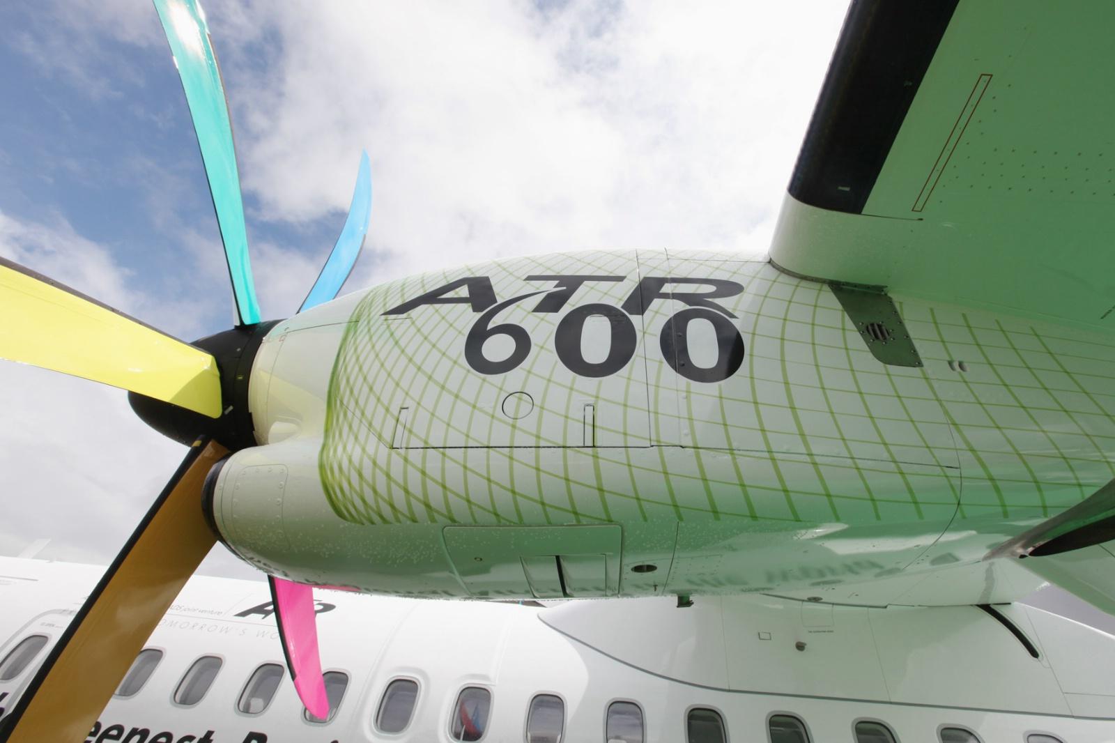 ATR72-600 fly. (Arkivfoto)