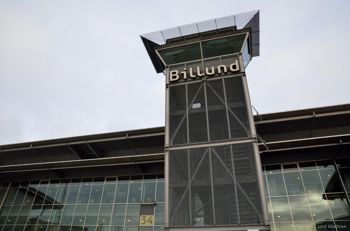 Trappetårnet i Billund Lufthavn (Arkivfoto: Morten Lund Tiirikainen)