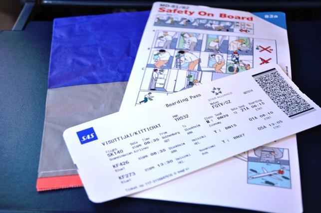 annullering af flybillet