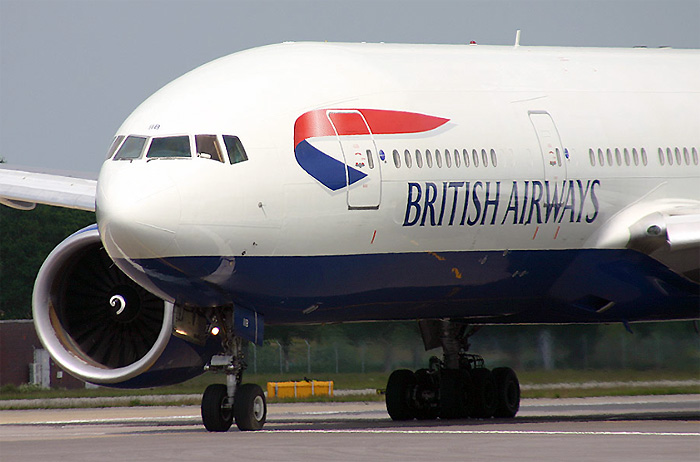 British Airways – Boeing 777-200.