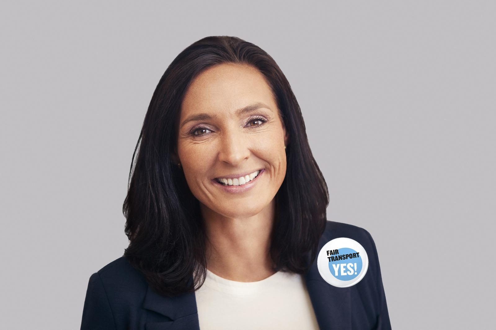 Christa Ceré, formand for Cabin Attendants Union.
