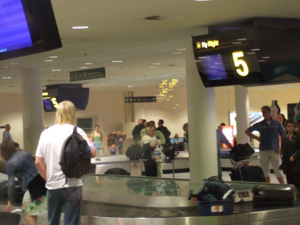 Bagageområdet i Københavns Lufthavn (Arkivfoto)