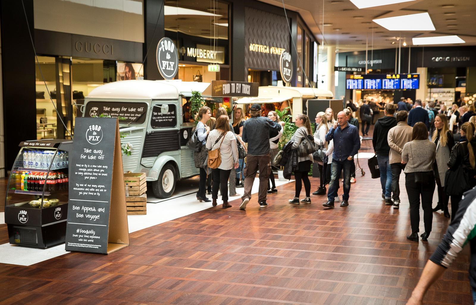 Shoppingcentret i Københavns Lufthavn. Foto: Ernst Tobisch