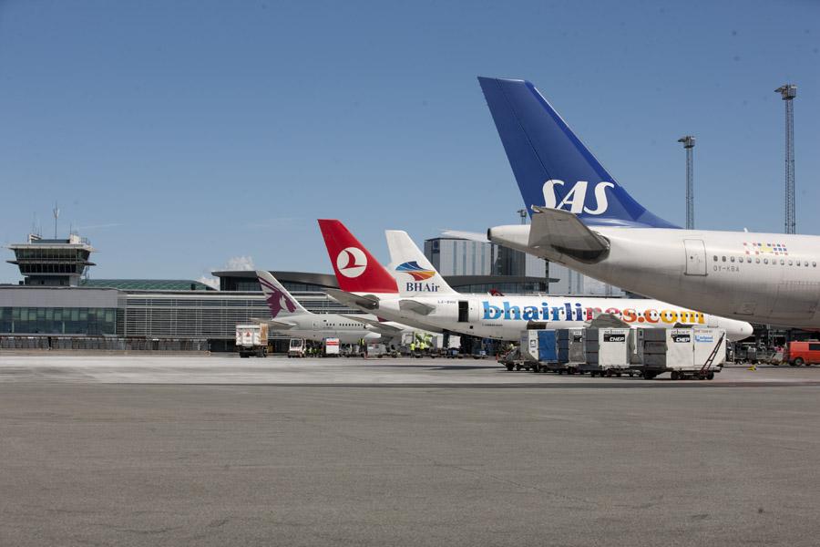 Forplads i Københavns Lufthavn. (Foto: CPH)