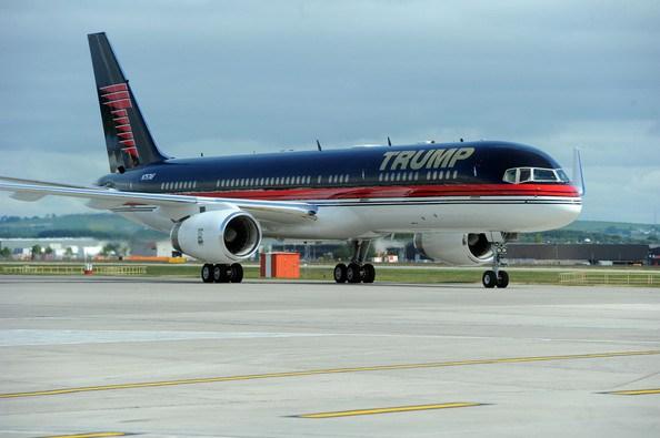 """""""Trump Force One"""" har tidligere været beskæftiget af Sterling Airways."""