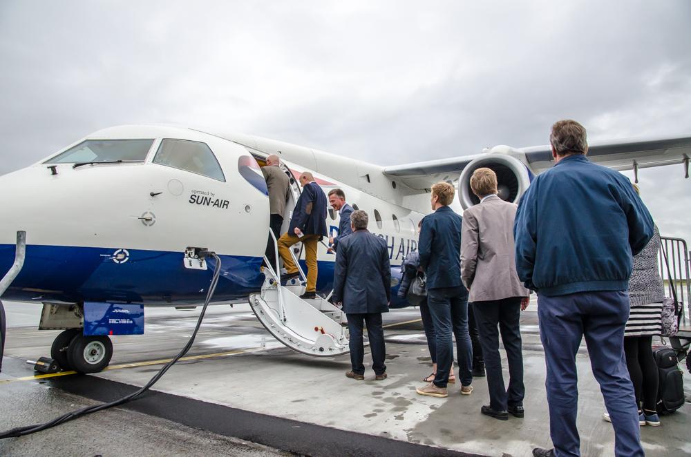 Sun-Air Dornier 328JET i Aalborg Lufthavn (Foto: Morten Lund Tiirikainen)