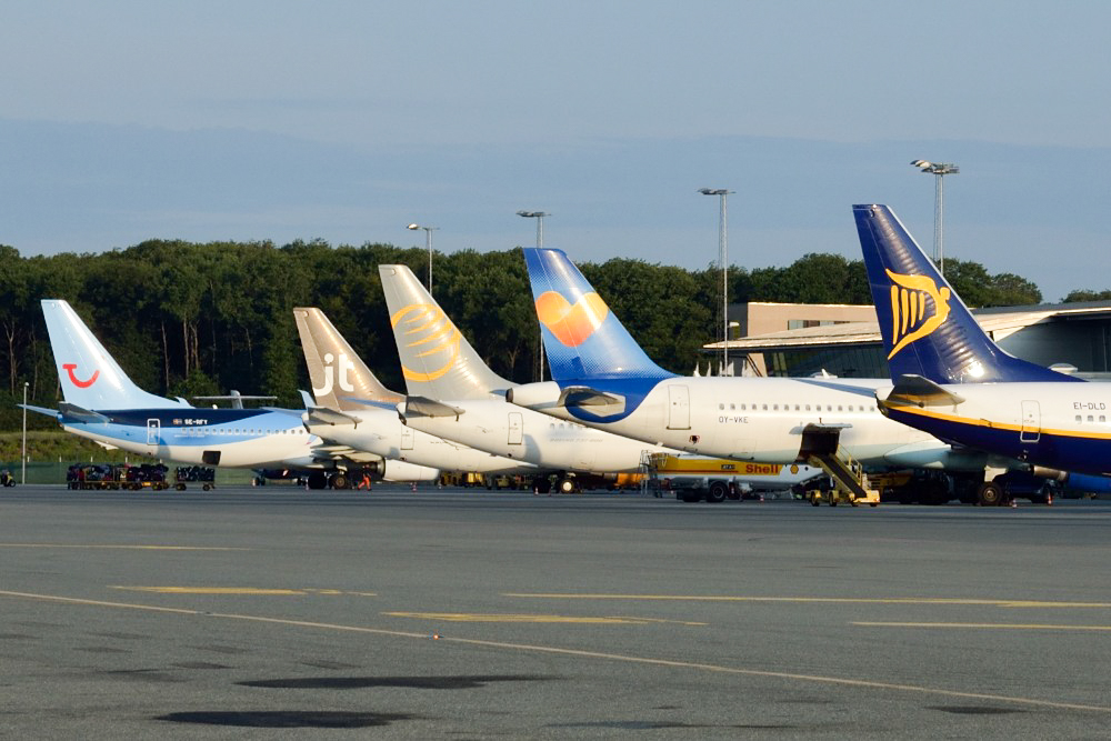 Forpladsen i Billund Lufthavn. (Arkivfoto: Morten Lund Tiirikainen)