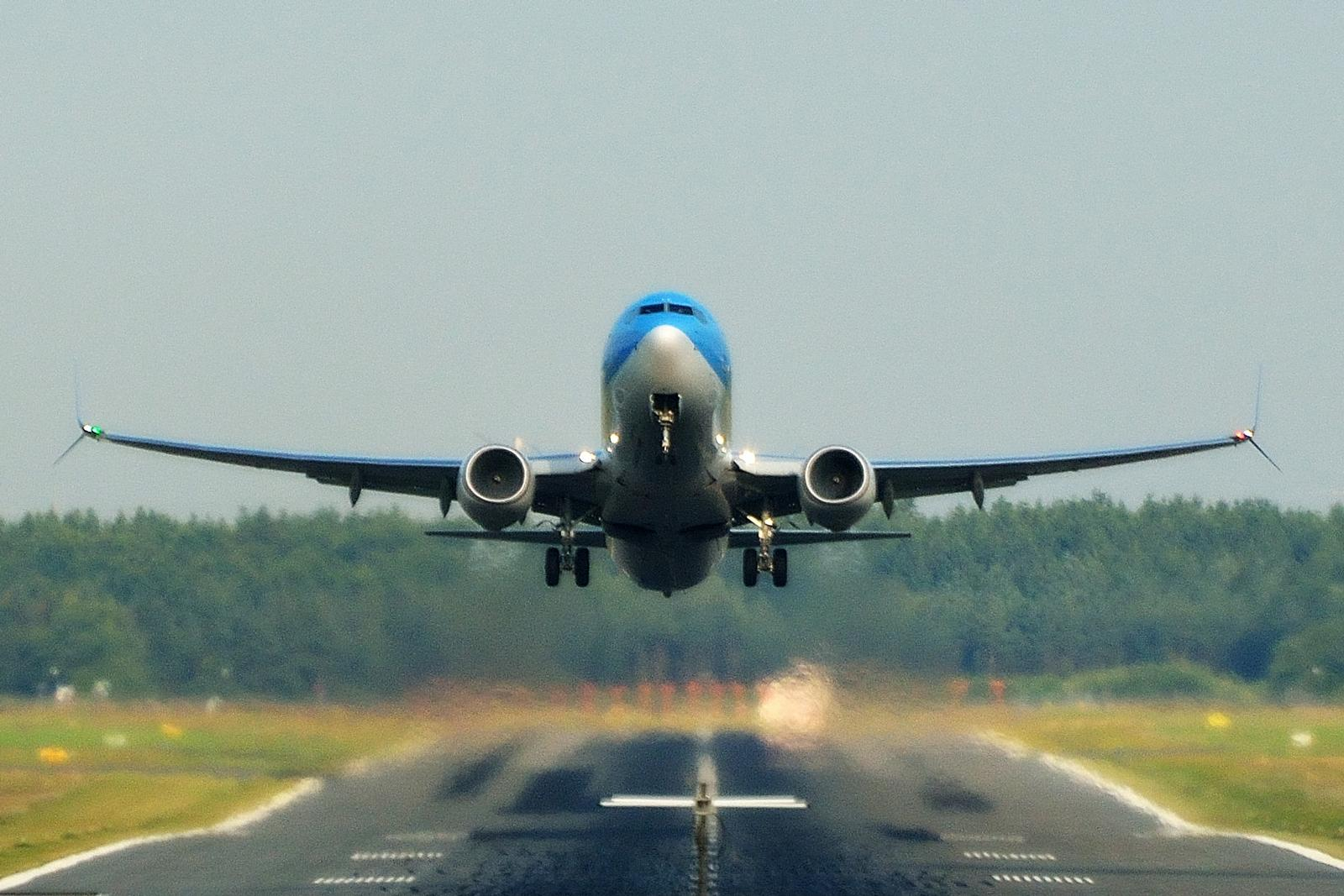 Et TUI-fly under take off fra Billund Lufthavn (Arkivfoto: Morten Lund Tiirikainen)