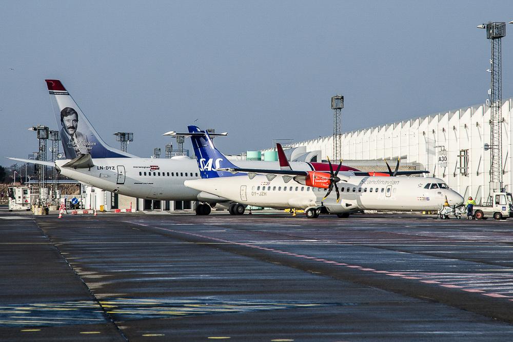 Indenrigsfly i Københavns Lufthavn (Arkivoto: Morten Lund Tiirikainen)