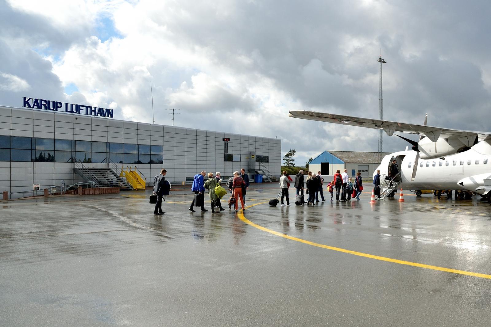 Karup Lufthavn (Foto: Morten Lund Tiirikainen)