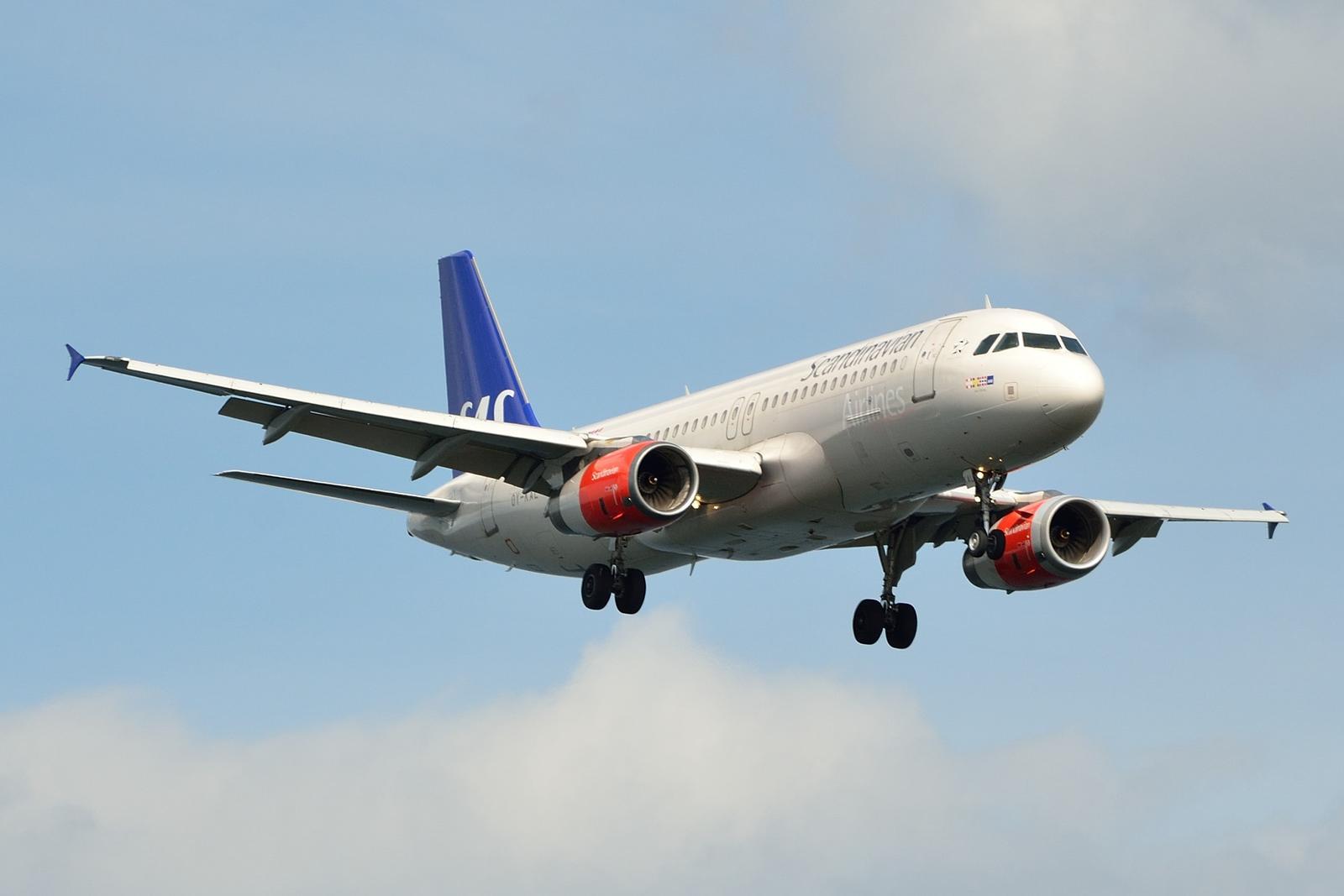 SAS Airbus A320-200 (Foto: Morten Lund Tiirikainen)