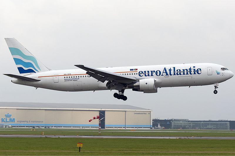 Boeing 767-300ER fly fra EuroAtlantic.