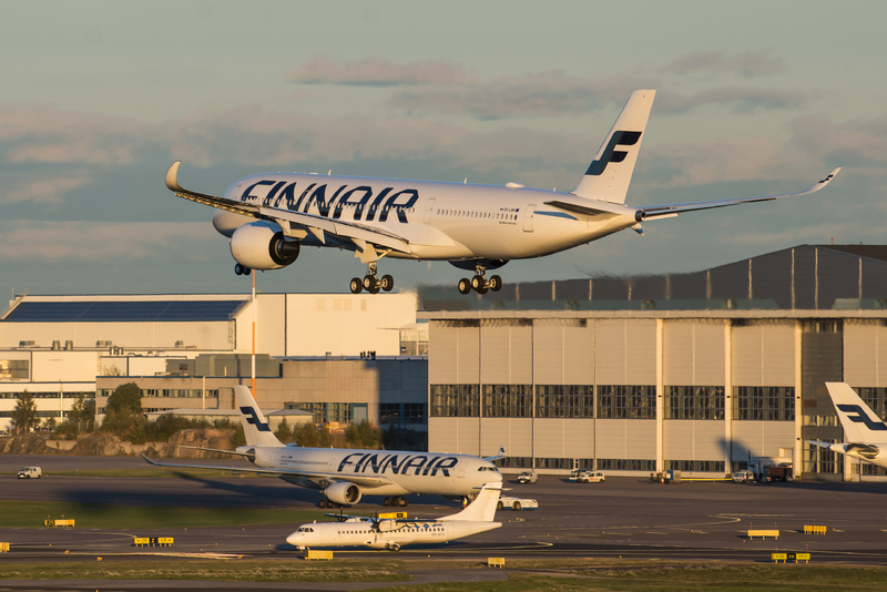 Finnair A350-900 XWB. (Foto: Finnair)