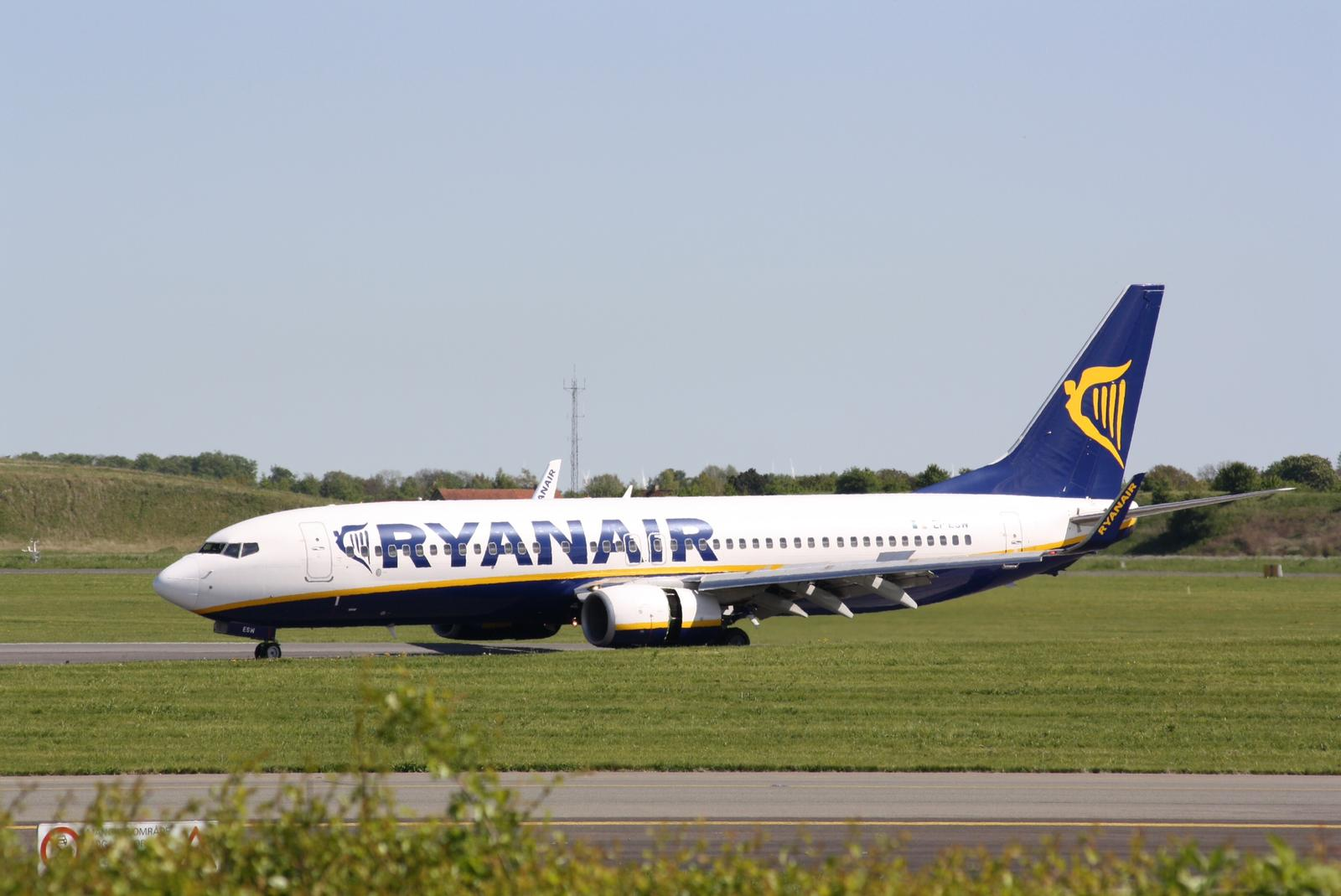 Ryanair i Københavns Lufthavn. (Foto: Andreas Krog)