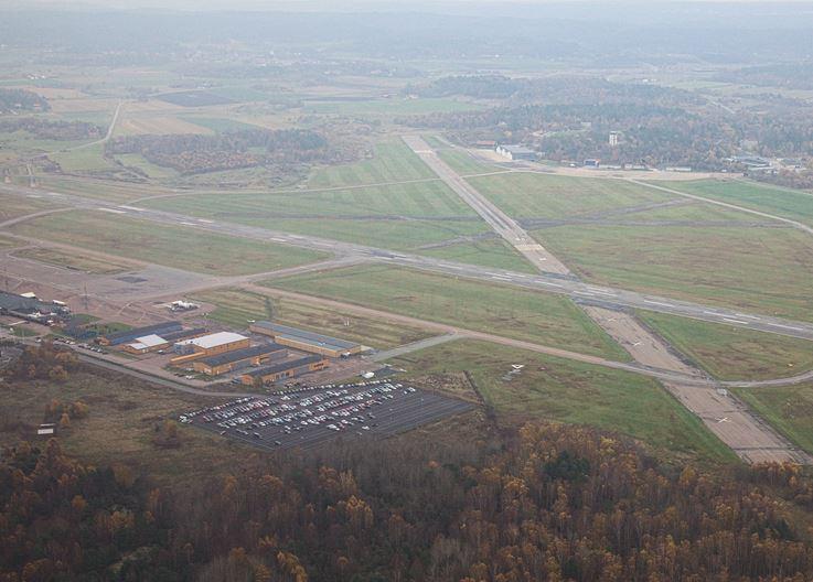 Gøteborg City Airport i Säve.