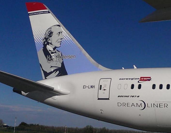 Boeing 787-8 Dreamliner (LN-LNH) fra Norwegian. (Foto: Norwegian)