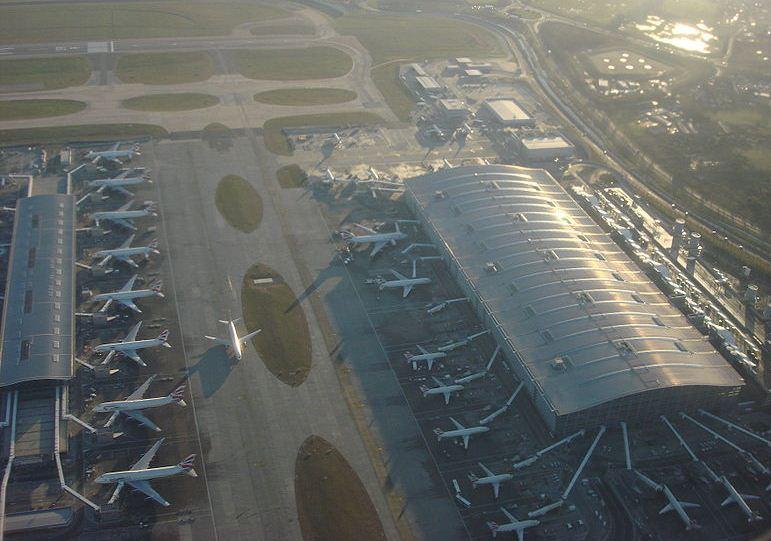 Heathrow Terminal 5. Arkivfoto.