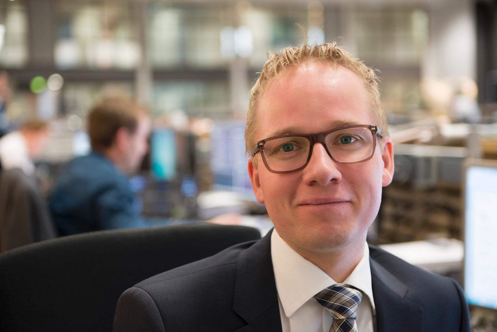 Aktieanalysechef Jacob Pedersen fra Sydbank.