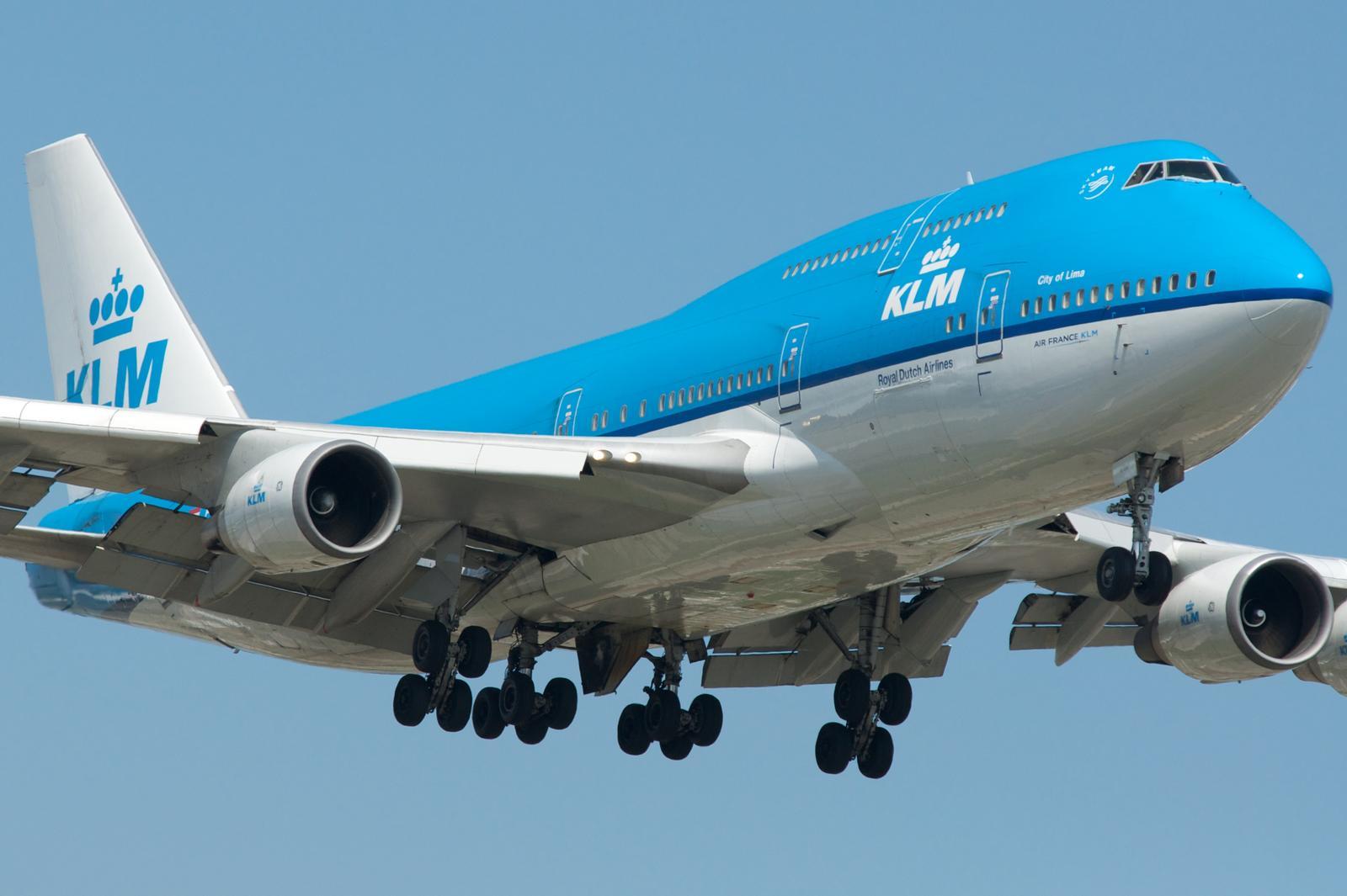 KLM Boeing 747-400