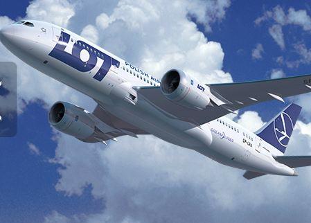 Boeing 787-8 Dreamliner fra LOT.