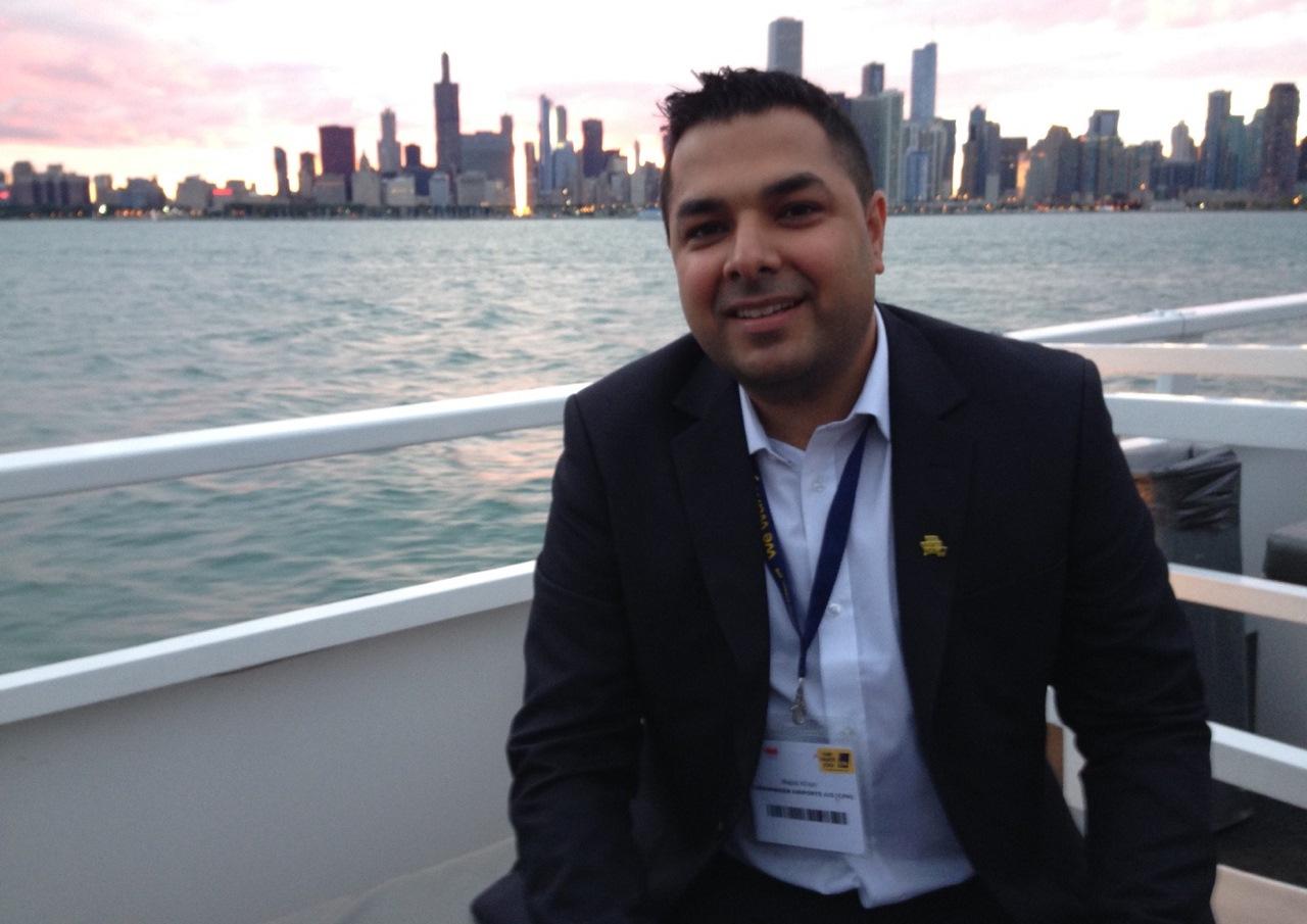 Majid Khan er ruteudviklingsdirektør i Istanbul Airport. (Privatfoto)
