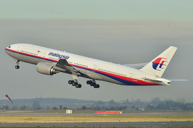Dette Boeing 777-200ER fly fra Malaysia Airlines forsvandt den 8. marts 2014.