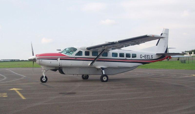 En Cessna Grand  Caravan turboprop.