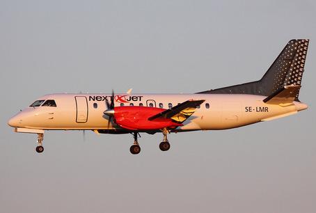 Et af Nextjets SAAB 340-fly.