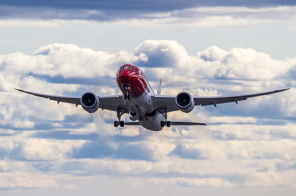 Norwegian Boeing 787-8 Dreamliner.