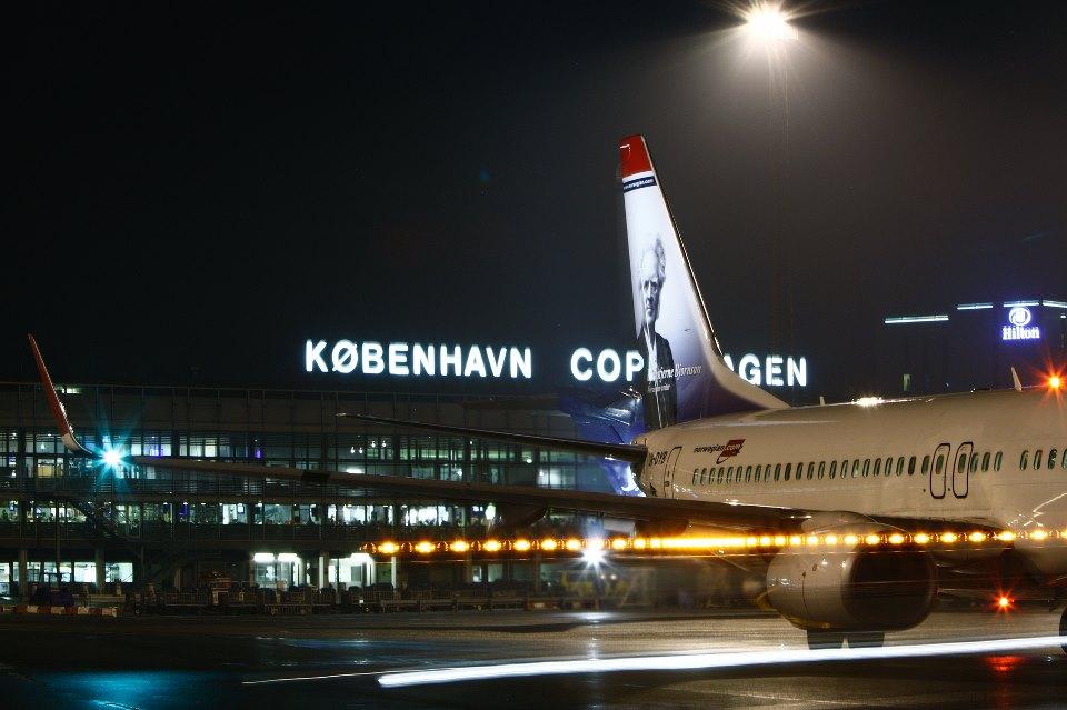 Norwegian Boeing 737-800 i Københavns Lufthavn.