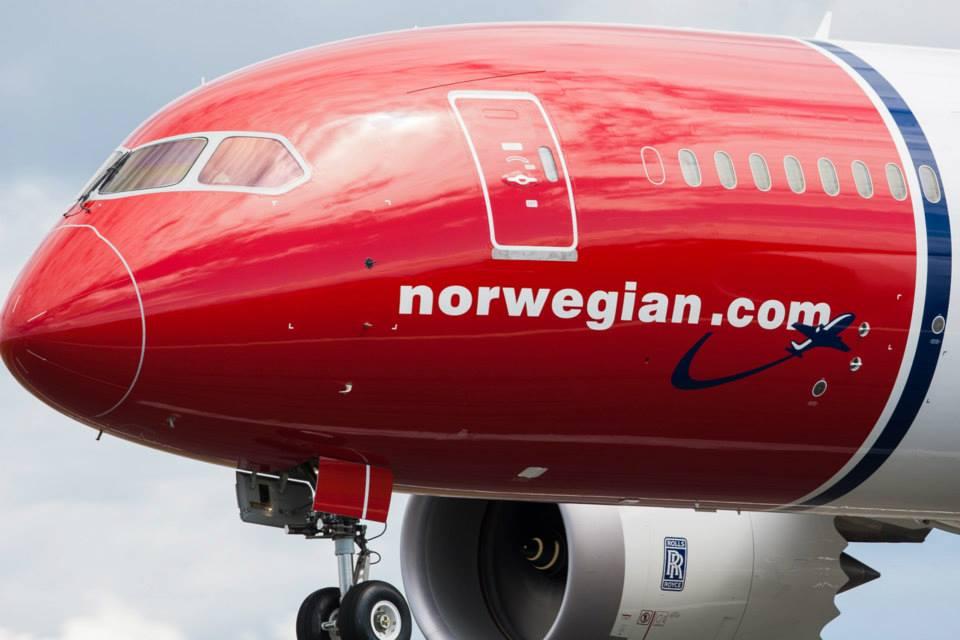 Boeing 787 Dreamliner fra Norwegian. (Foto: Norwegian)