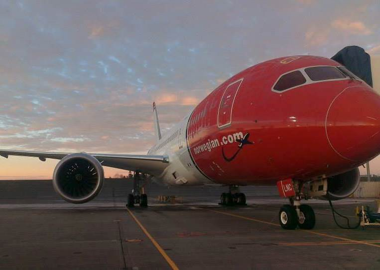 Norwegian Boeing 787-8 Dreamliner. (Foto: Norwegian)
