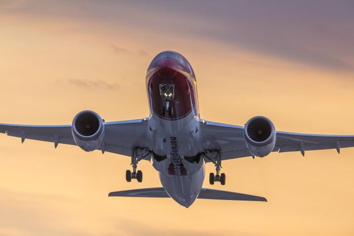 Boeing 787-8 Dreamliner fra Norwegian. (Foto: Norwegian)