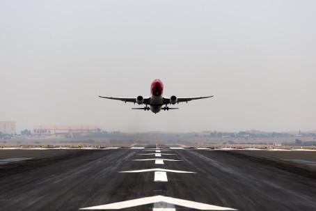 Norwegian-fly letter fra Billund Lufthavn (Foto: Billund Airport)