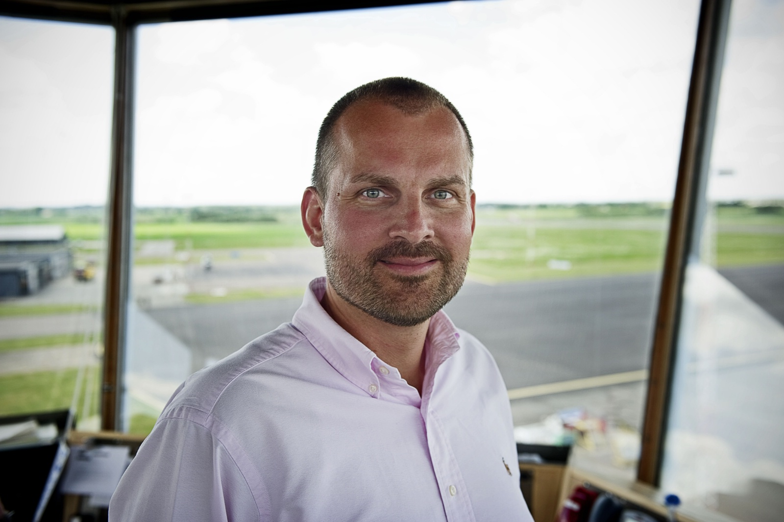 Administrerende direktør i Aarhus Lufthavn, Peter Høgsberg.