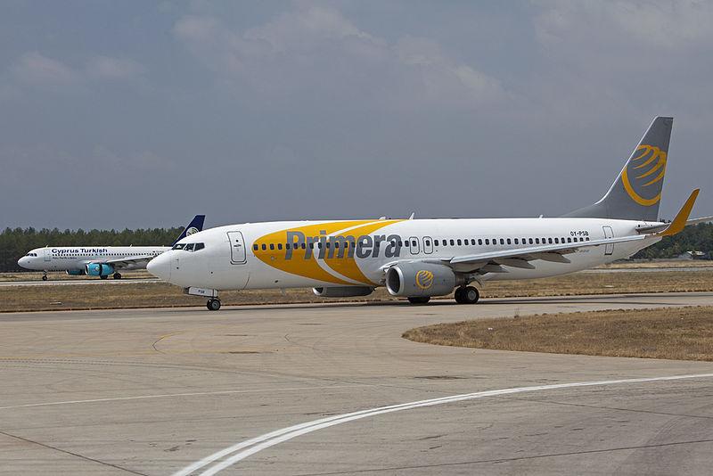 Primera Air – Boeing 737-800.